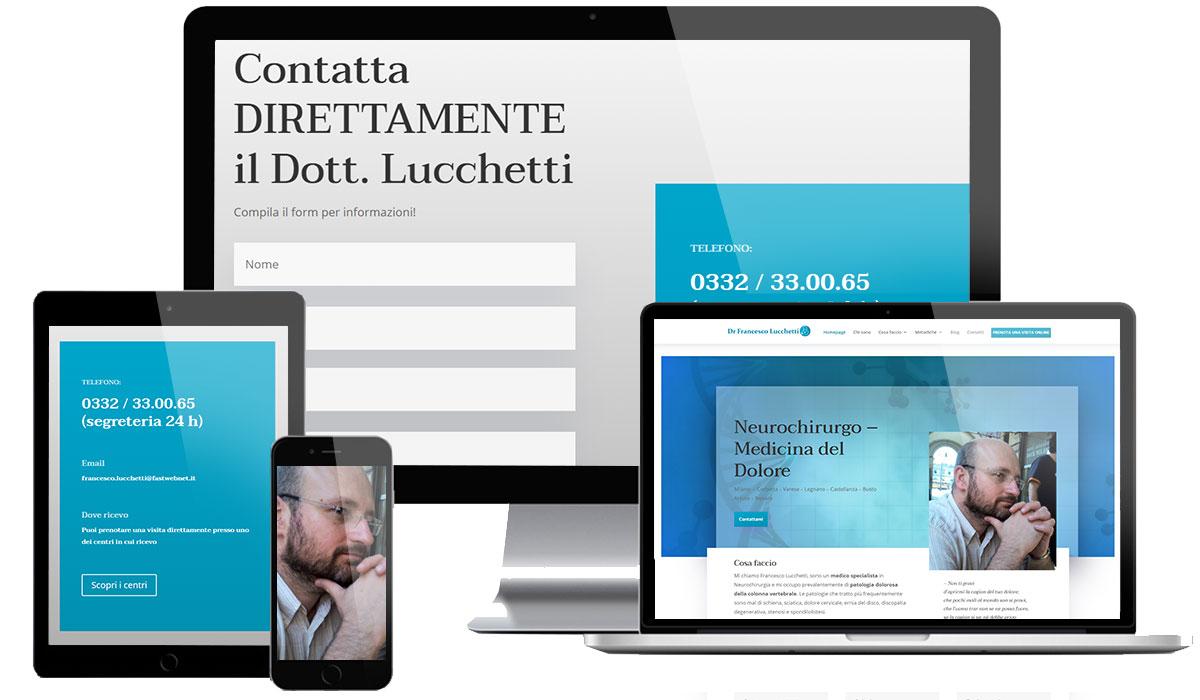 Creazione sito web dottore medico chirurgo
